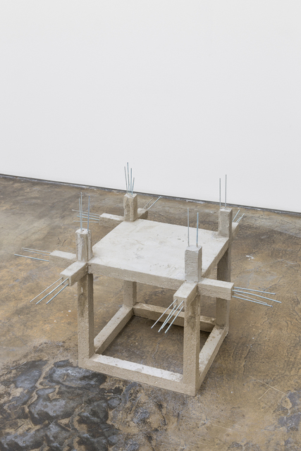 , 'Unfinished concrete chair #2,' 2015, Baginski, Galeria/Projectos
