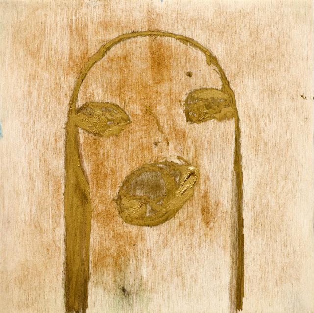 , 'Untitled (gold),' 2010, Monica De Cardenas