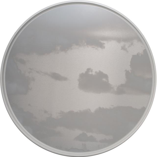 Miya Ando, 'Kumo (Cloud) Tondo 4.19.60.1', 2019, Painting, Ink on aluminum composite, Sundaram Tagore Gallery