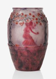 """Gabriel Argy-Rousseau, '""""Jardin des Hesperides"""" Vase,' circa 1926, Sotheby's: Important Design"""