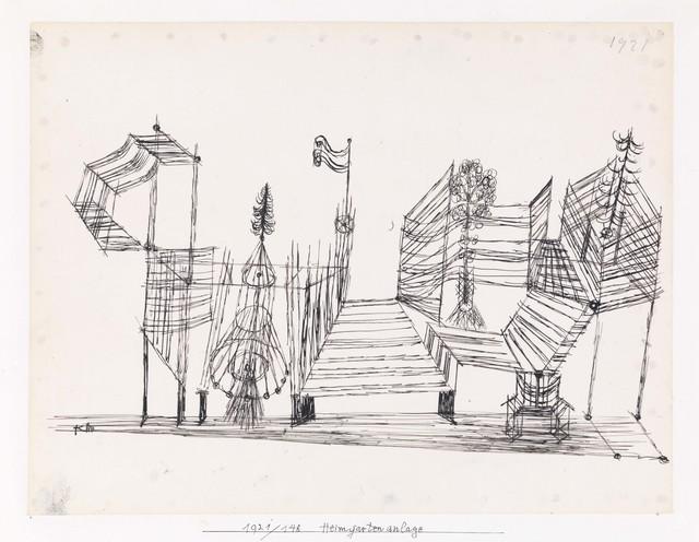 , 'Heimgartenanlage (Home Garden Plot),' 1921, Galerie Michael Haas