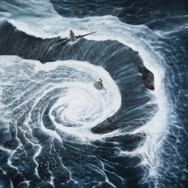 Shiori Eda, 'Water Power', 2019, Painting, Oil painting on canvas, A2Z Art Gallery