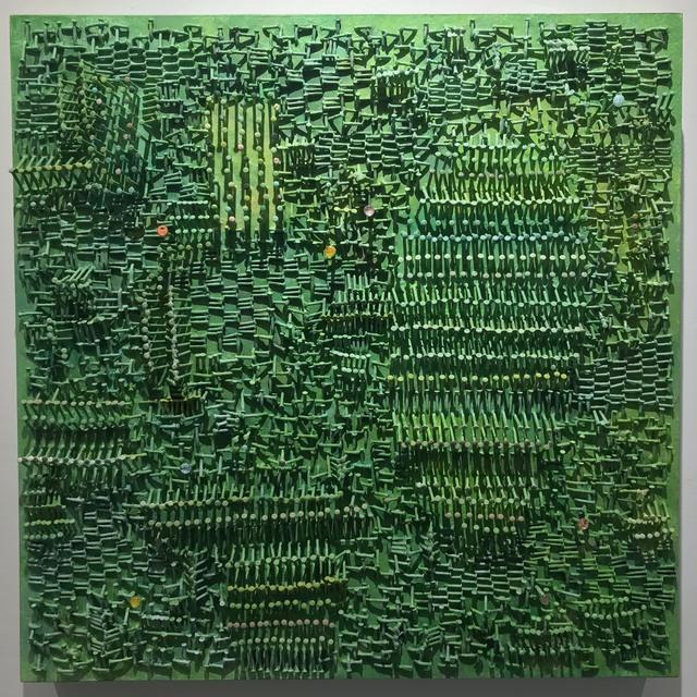 , 'Lichenweave (Becoming Lichenized),' 2016, Praxis