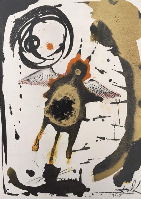 Salvador Dalí, 'Creatio Volatilium', 1965, Wallector