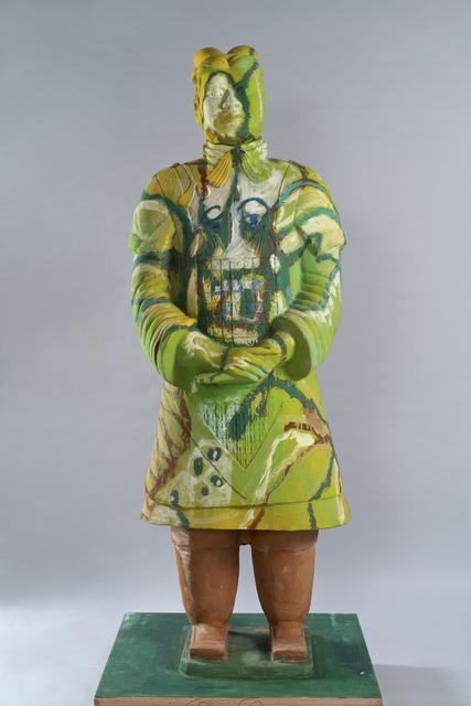 Sandro Chia, 'Guerriero', 2010, Sculpture, Polychrome Terracotta, AreaB