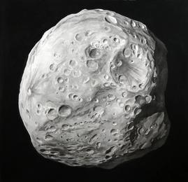 Dark asteroid