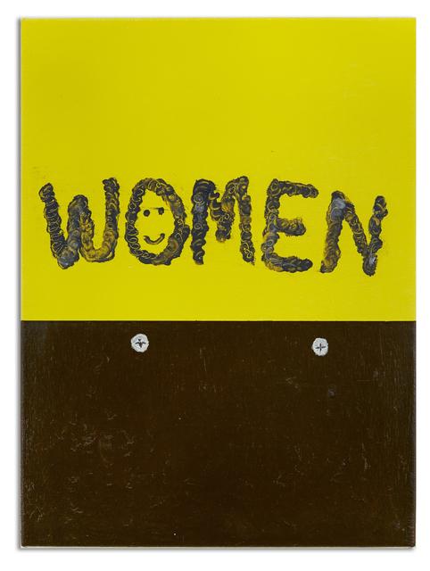 , 'Women,' 2015, Porch Gallery