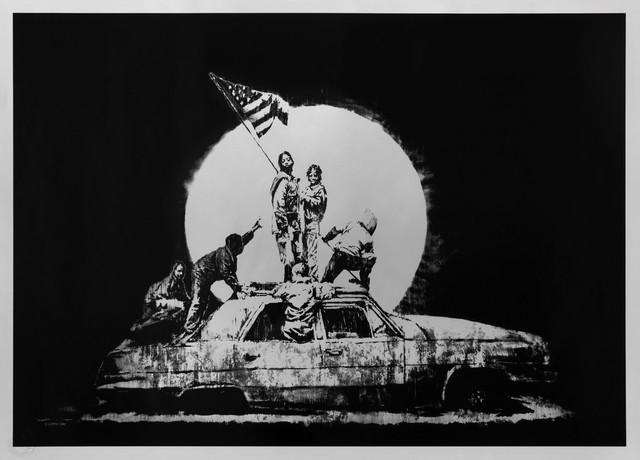 Banksy, 'Silver Flag', 2006, Andipa