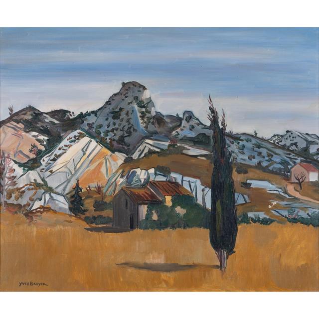 Yves Brayer, 'Les Alpilles', 1956, PIASA