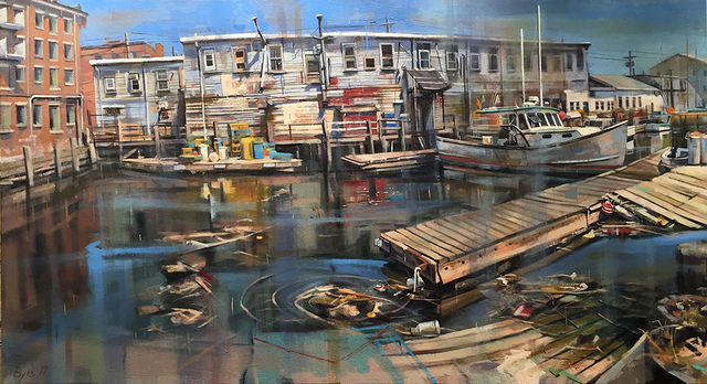 , 'Harbor Fish Market,' , Greenhut Galleries