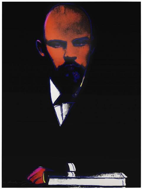 Andy Warhol, 'Black Lenin (FS II.402)', 1987, Print, Screenprint on Arches 88 Paper, Revolver Gallery