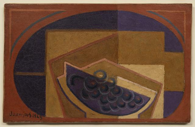 , 'Le raisin noir,' 1923, DICKINSON