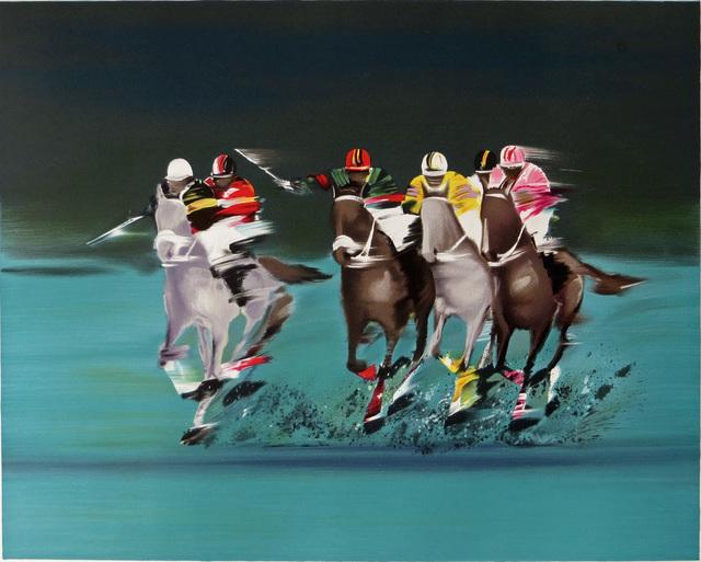 Victor Spahn, 'Polo Players', ca. 2000, Joseph Grossman Fine Art Gallery
