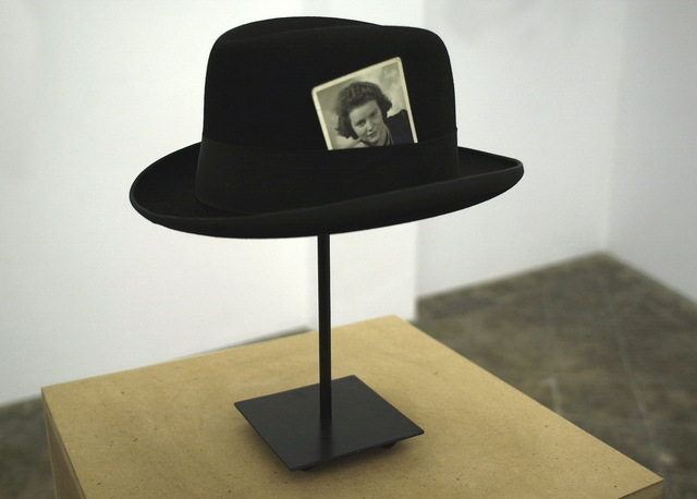 , 'Hat with Photograph,' 2007, ProjecteSD