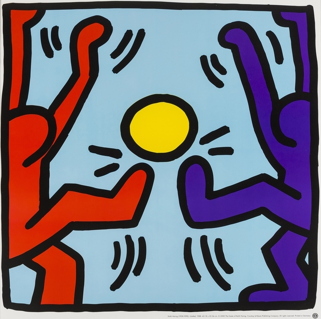 After Keith Haring, 'Untitled', 1987/2000, Forum Auctions