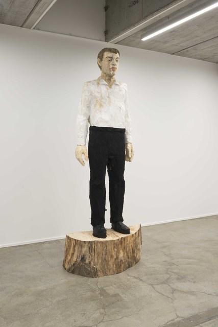, 'Grosser Mann schwarz-weiss,' 2017, Deweer Gallery