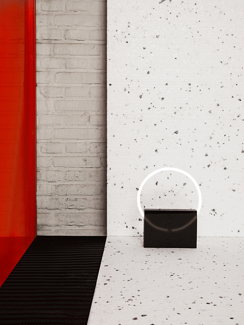 , 'Voie Light Small block Black/White,' 2015, Etage Projects