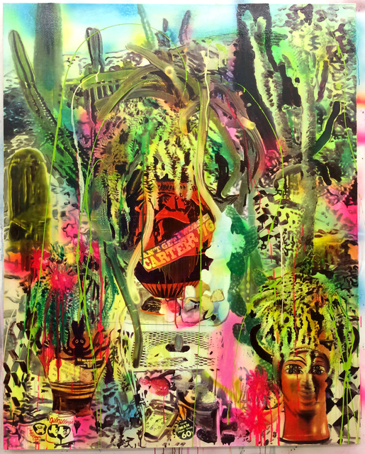 , 'Survivalist Still Life with Antiquities,' 2016, Galerie Nathalie Obadia