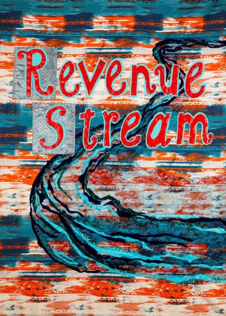 , 'Revenue Stream,' 2018, ODETTA