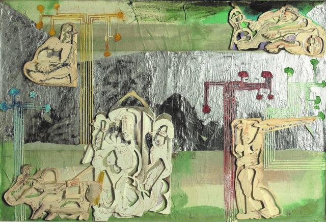 , 'River Crossing,' 1980, Jhaveri Contemporary
