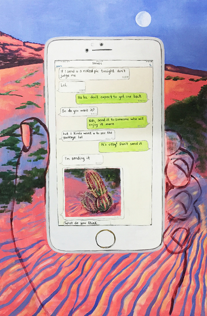, 'His Cactus,' 2017, Field Projects