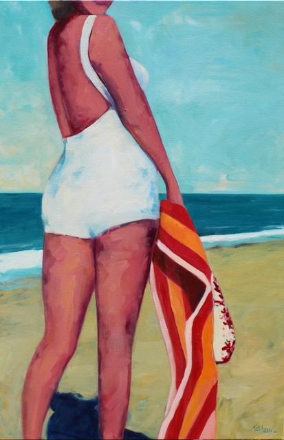 TS Harris, 'Beach Bum', 2013, Painting, Oil on canvas, Quidley & Company