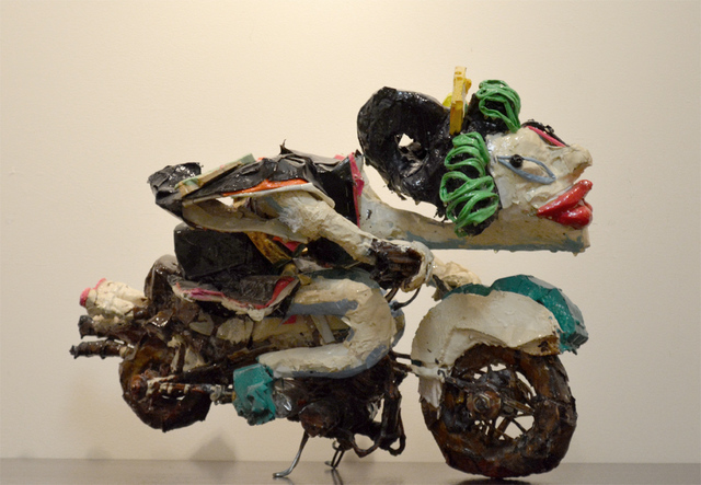 , 'Wonder Woman Motorcycle,' 2014, Ronin Gallery