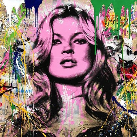 Mr. Brainwash, 'Cover Girl', 2017, Taglialatella Galleries