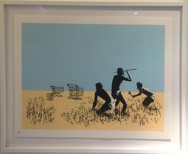 Banksy, 'Trolleys (Color- Signed)', 2007, Robin Rile Fine Art