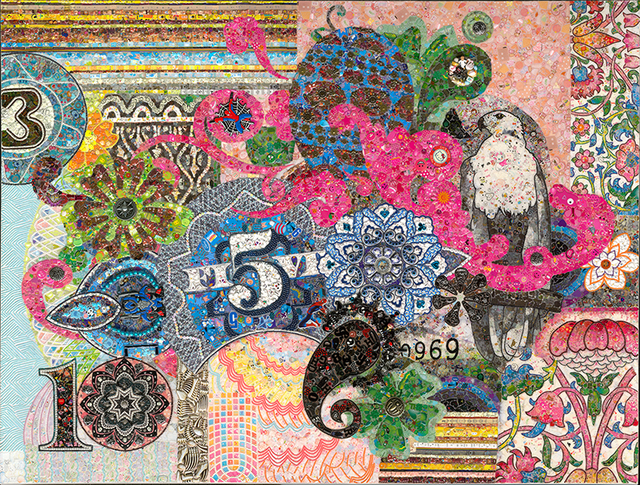 , 'Rolling No.2,' 2016, ART LEXÏNG