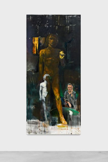 , 'Eros en de Eenzame Man,' 2018, Almine Rech Gallery