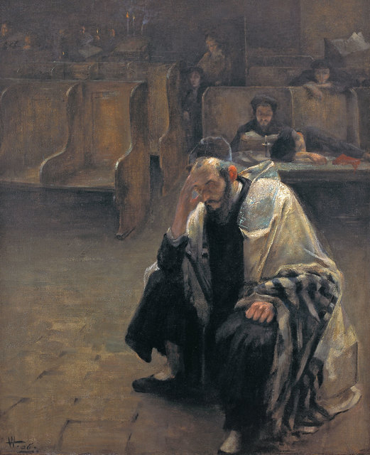 , 'In the Synagogue,' 1906, Ben Uri Gallery and Museum