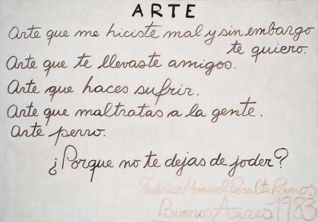 , 'ARTE,' 1983, Del Infinito