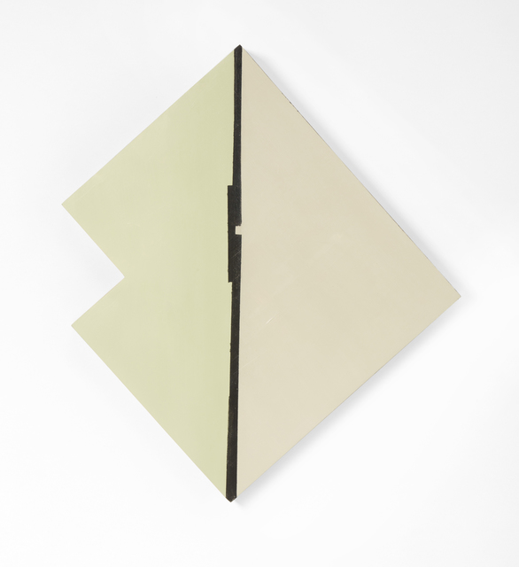Judy Cooke, 'Division', 2015, Painting, Oil and wax on wood, Elizabeth Leach Gallery