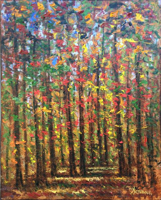 , 'Autumn, McGill Park,' 2017, Galerie d'Orsay