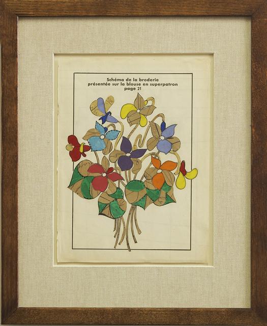 , 'Flower Study,' 2015, Gallery Elena Shchukina