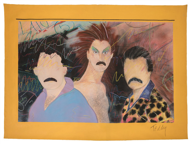 , 'Las Locas,' 1980, MOCA, Los Angeles