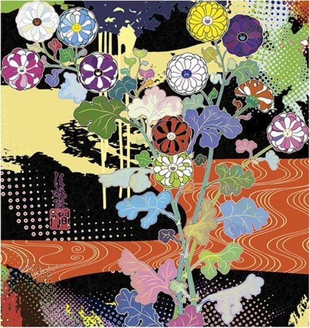Takashi Murakami, 'Korin: Dark Matter', 2015, Print, Offset Print, Kunzt Gallery