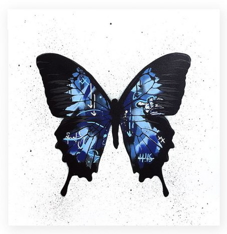 , 'Butterfly (blue),' 2017, Spoke Art