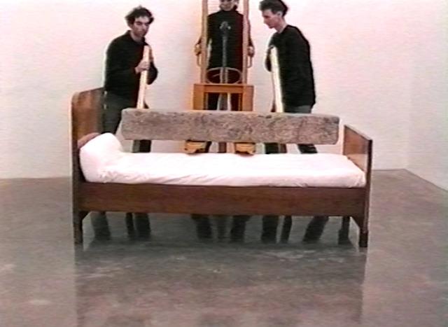 , 'Bed,' 2000, Christine König Galerie