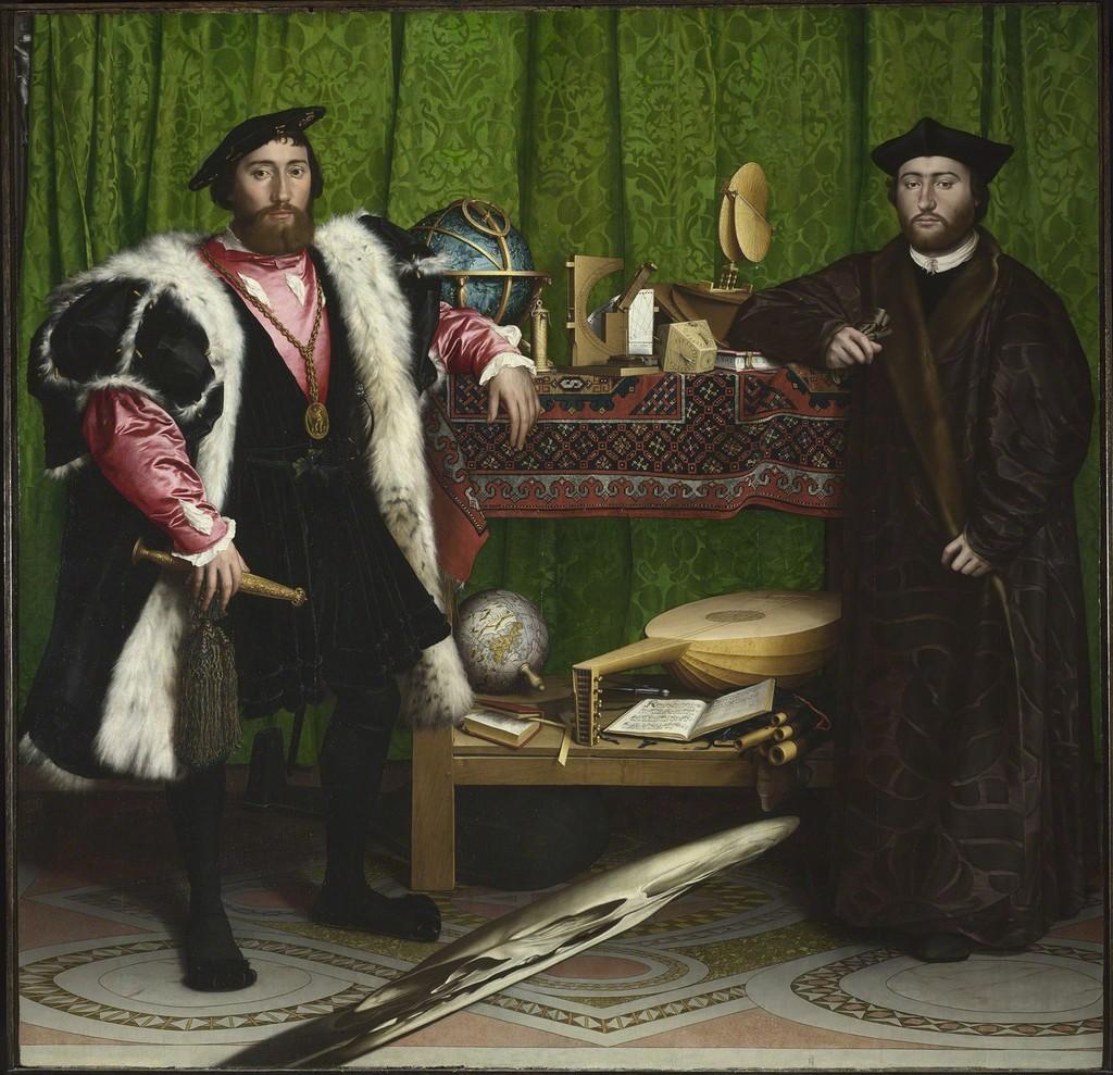 Jean de Dinteville and Georges de Selve ('The Ambassadors')