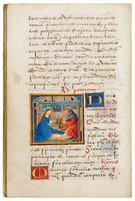 Simon Bening, 'Book of Hours, use of Rome', ca. 1520, Dr. Jörn Günther Rare Books
