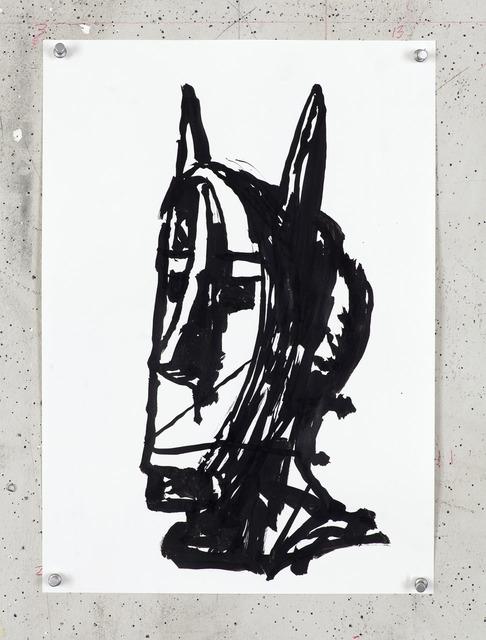 , 'Triumphs & Laments Procession Silhouette 15,' 2016, Lia Rumma