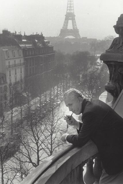 Henri Cartier-Bresson, 'Untitled (David O. Selznick with Eiffel Tower)', 1957, Elizabeth Houston Gallery