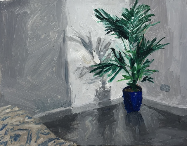 , 'Palm in Blue Vase,' 2018, Less is More Projects