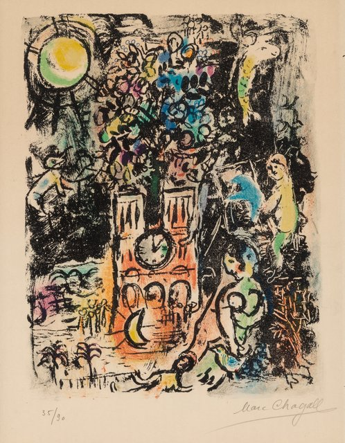Marc Chagall, 'The Tree of Jesse', 1960, Heritage Auctions