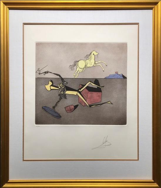 Salvador Dalí, 'Aspiration', 1980, Kings Wood Art