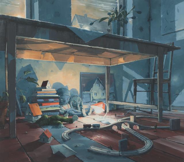 , 'Universum unter dem Tisch,' 2017, Galerie Fons Welters
