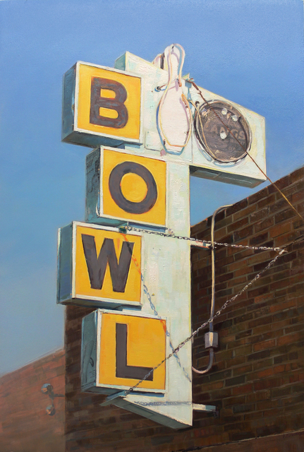 , 'The Local Lanes,' 2015, Sue Greenwood Fine Art