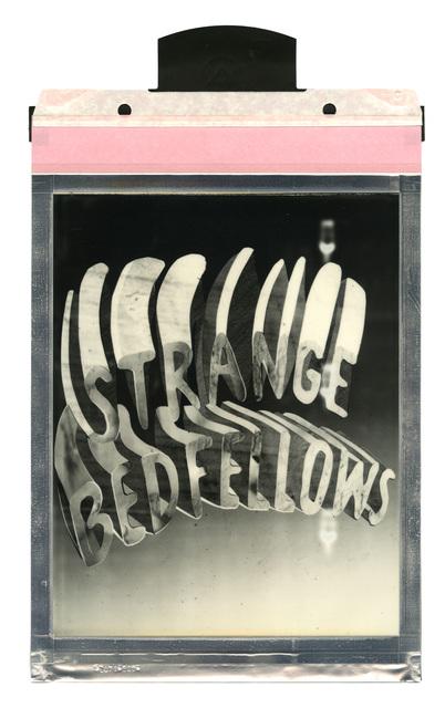 , 'Strange Bedfellows,' 2016, Taymour Grahne Gallery
